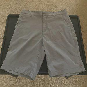 Calvin Klein Grey Gray Stretch Shorts Size 31 EUC